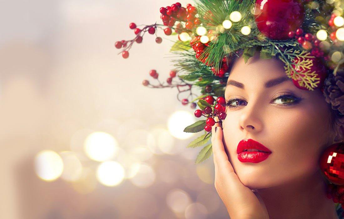 foto Make up di Natale