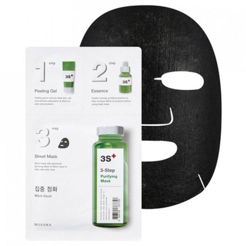 Foto delle maschere in tessuto coreane