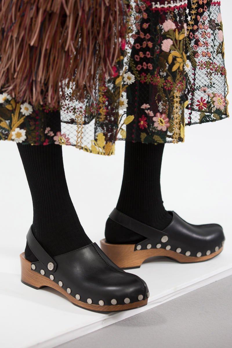 Foto delle clogs di Dior