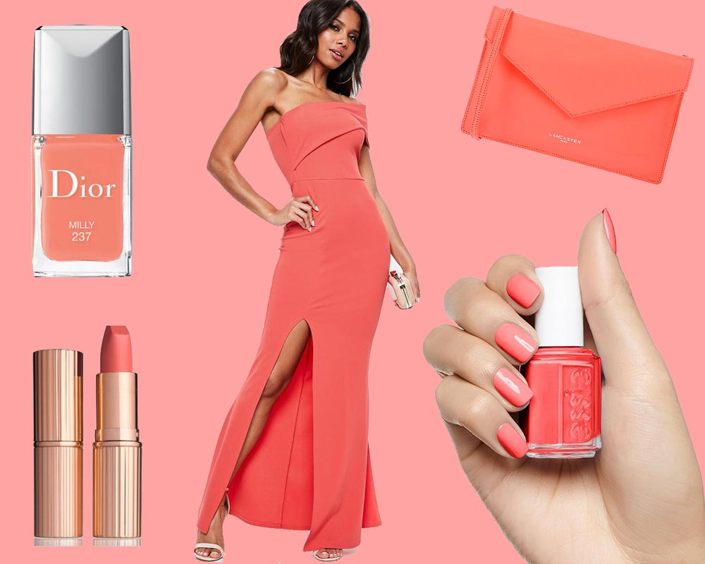 Colore Pantone 2019: Living Coral On Top