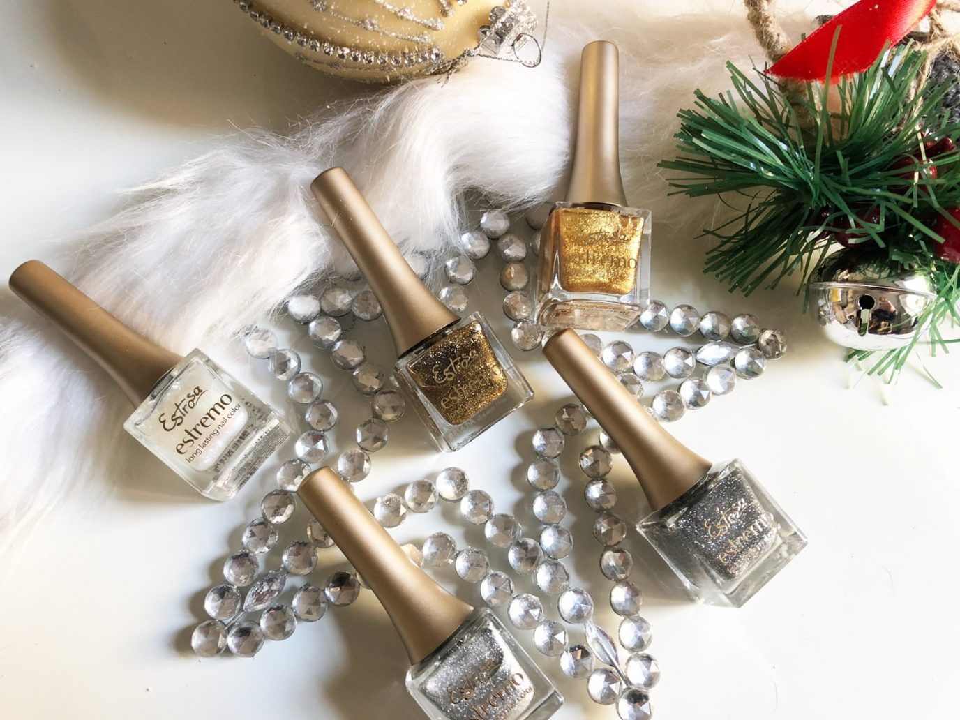 immagine di Smalti glitter Natale
