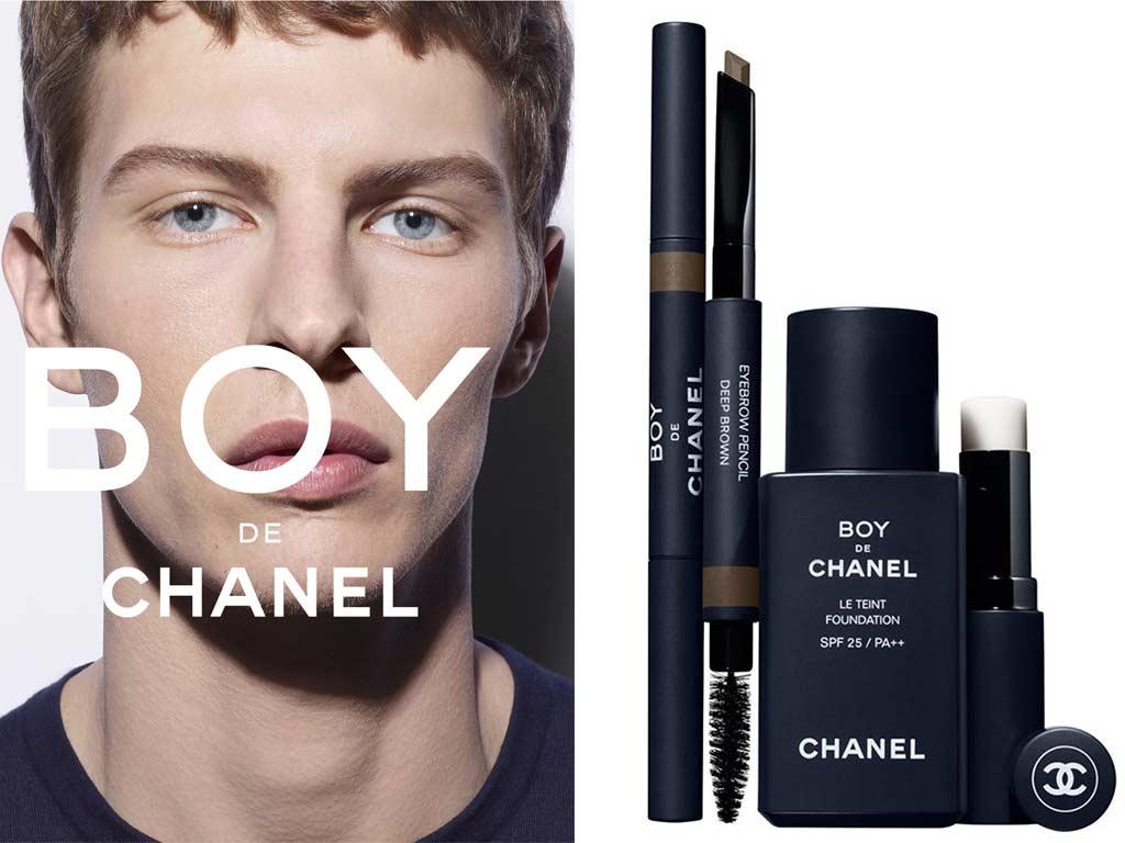 foto cosmetici uomo Boy de Chanel