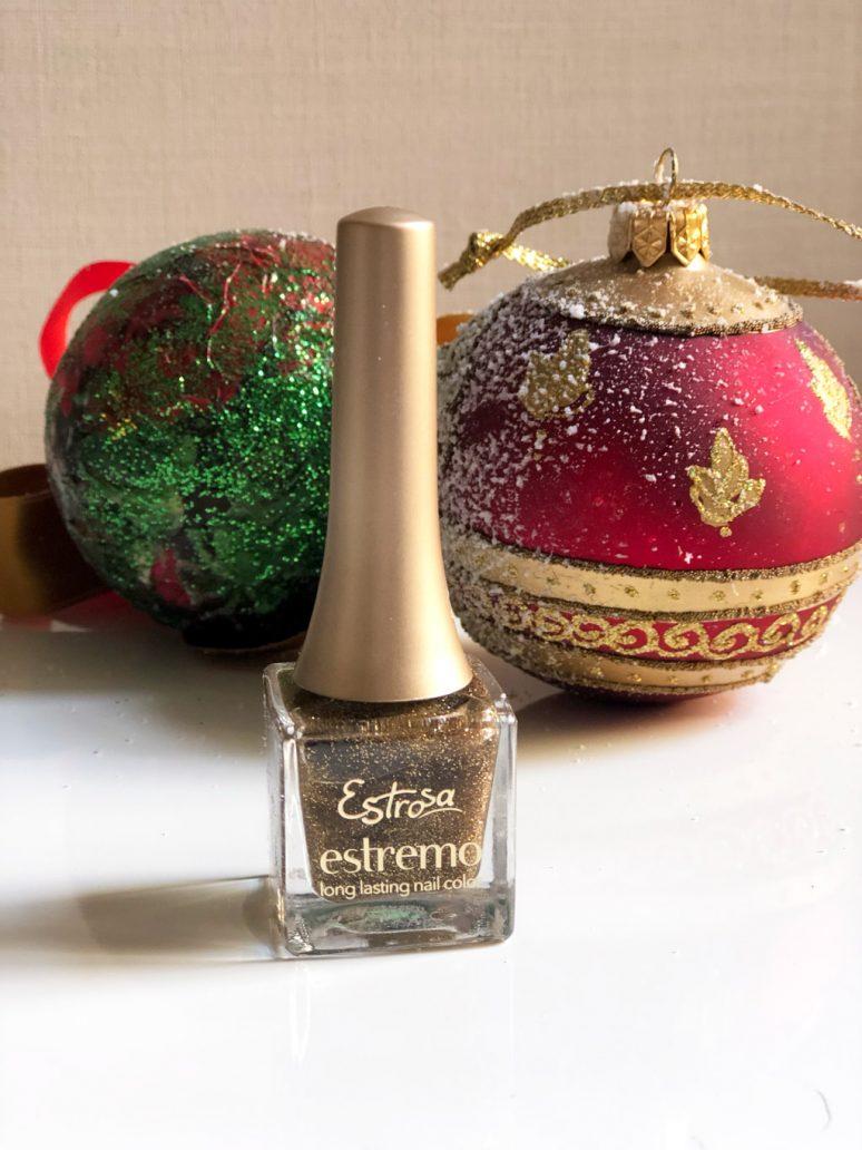 Immagine dello smalto bronzo glitter di Estrosa