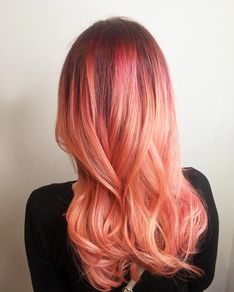 foto colore capelli living color, la moda capelli 2019