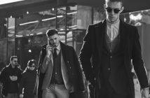 Foto di uomini con abiti formali