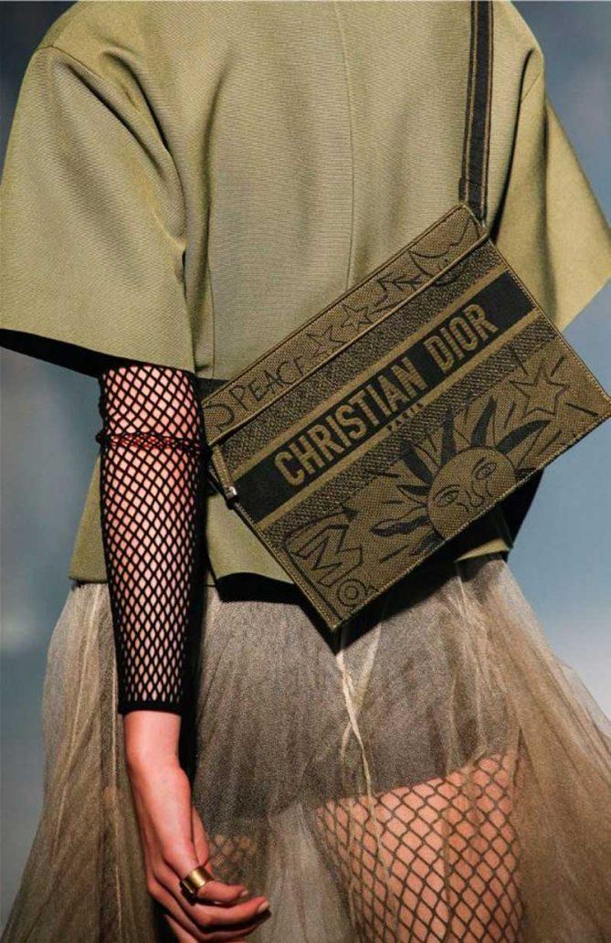 Foto della borsa di Dior