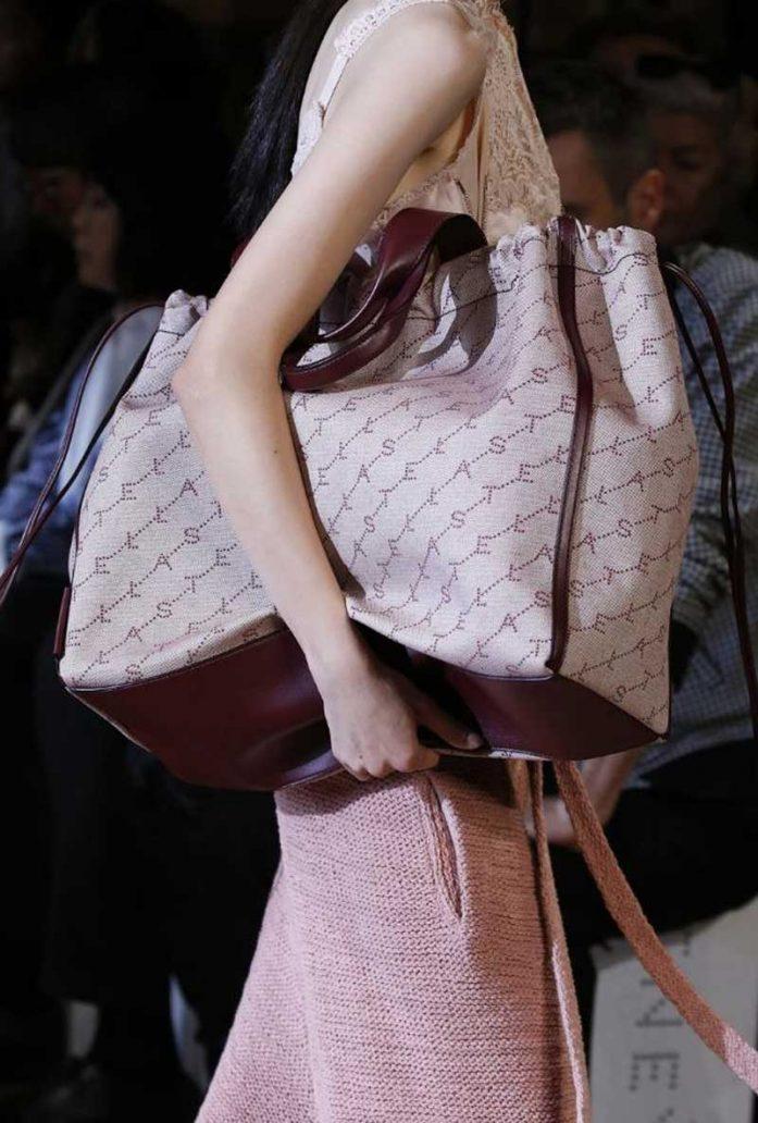 Foto della shopping bag di Stella McCartney