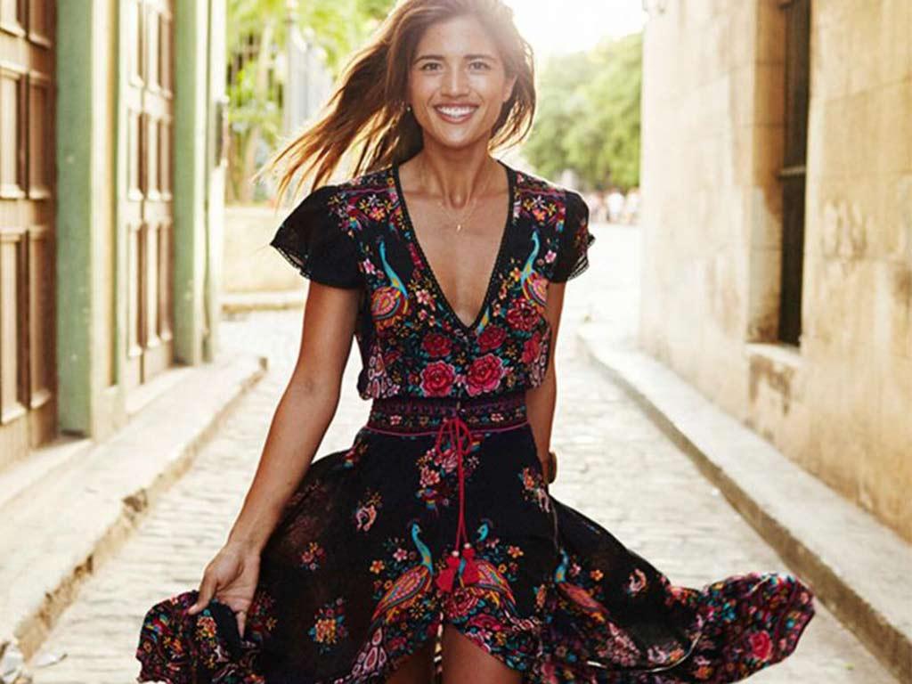 foto colori moda primavera estate 2019: stampa a fiori