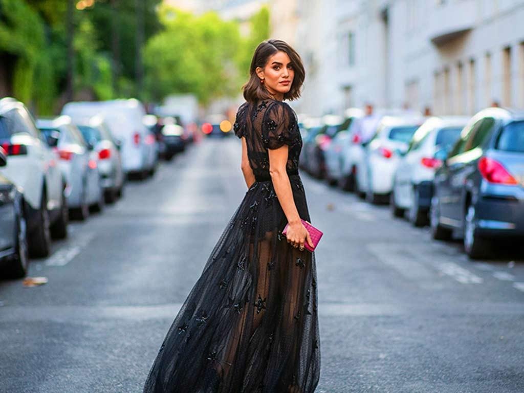 foto colori moda primavera estate 2019: nero