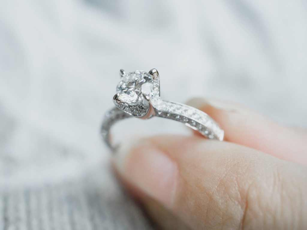 foto dei diamanti sintetici