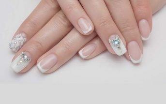 manicure cristalli swarovski