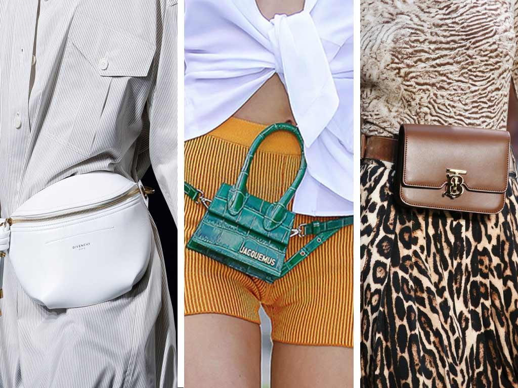 foto accessori primavera estate 2019: borse da cintura