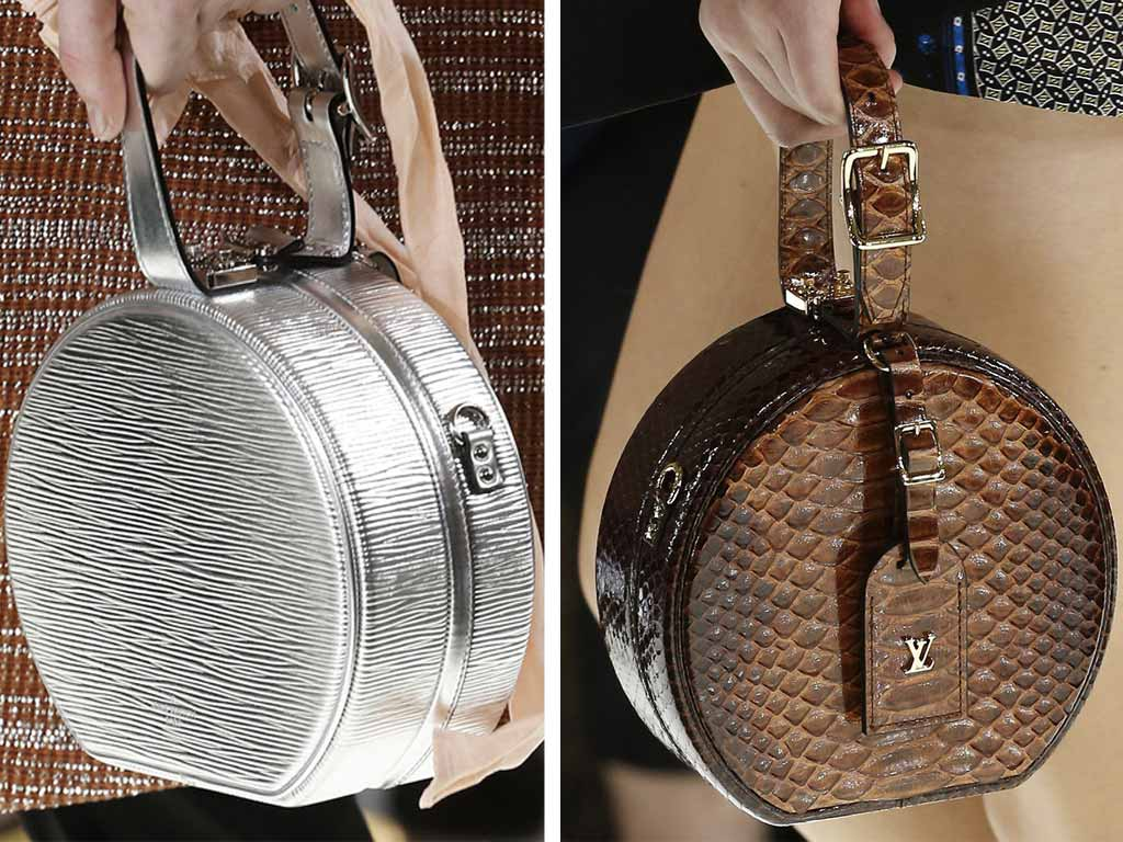 accessori primavera estate 2019: borse geometriche