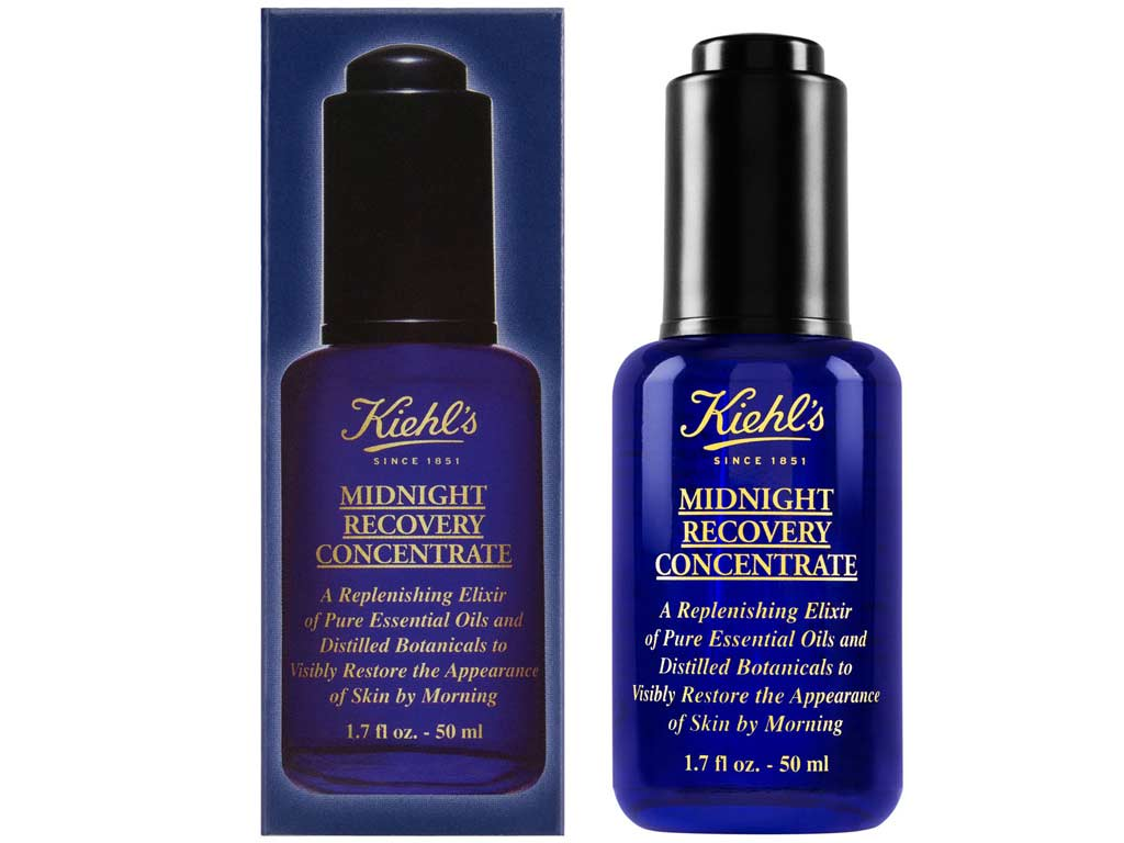 foto Siero Viso Kiehl's Midnight Recovery Concentrate