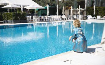 Foto della piscina del Rome Cavalieri Waldorf Astoria