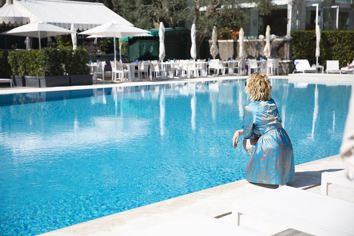 Piscina e Relax: una Giornata Esclusiva al Rome Cavalieri Waldorf Astoria