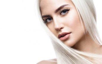 foto moda capelli autunno inverno 2019-2020 biondo platino