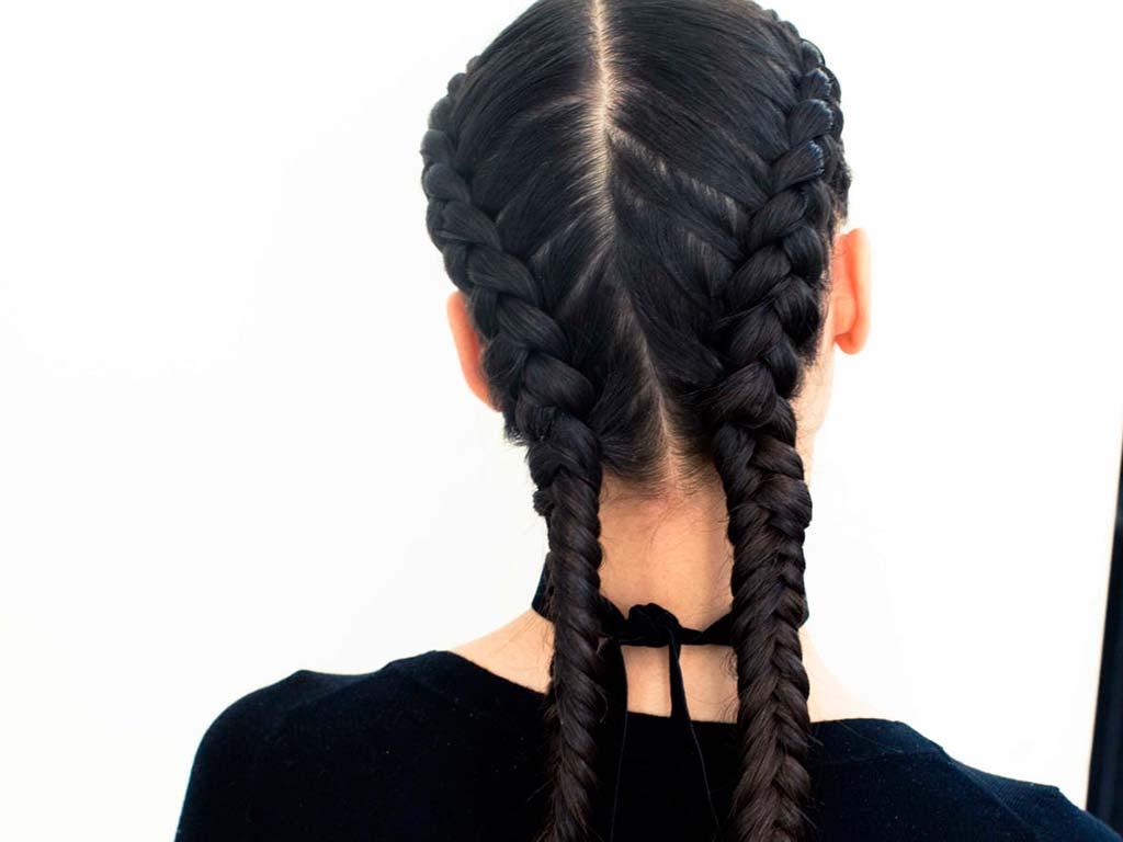 foto boxer braids moda capelli autunno inverno 2019-2020