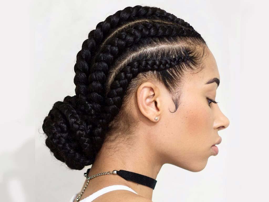 foto cornrow braids moda capelli autunno inverno 2019-2020