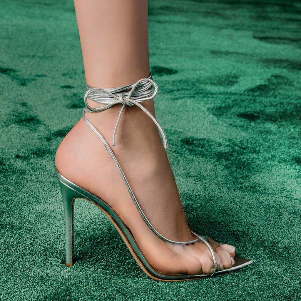 Foto di sandali in plexi