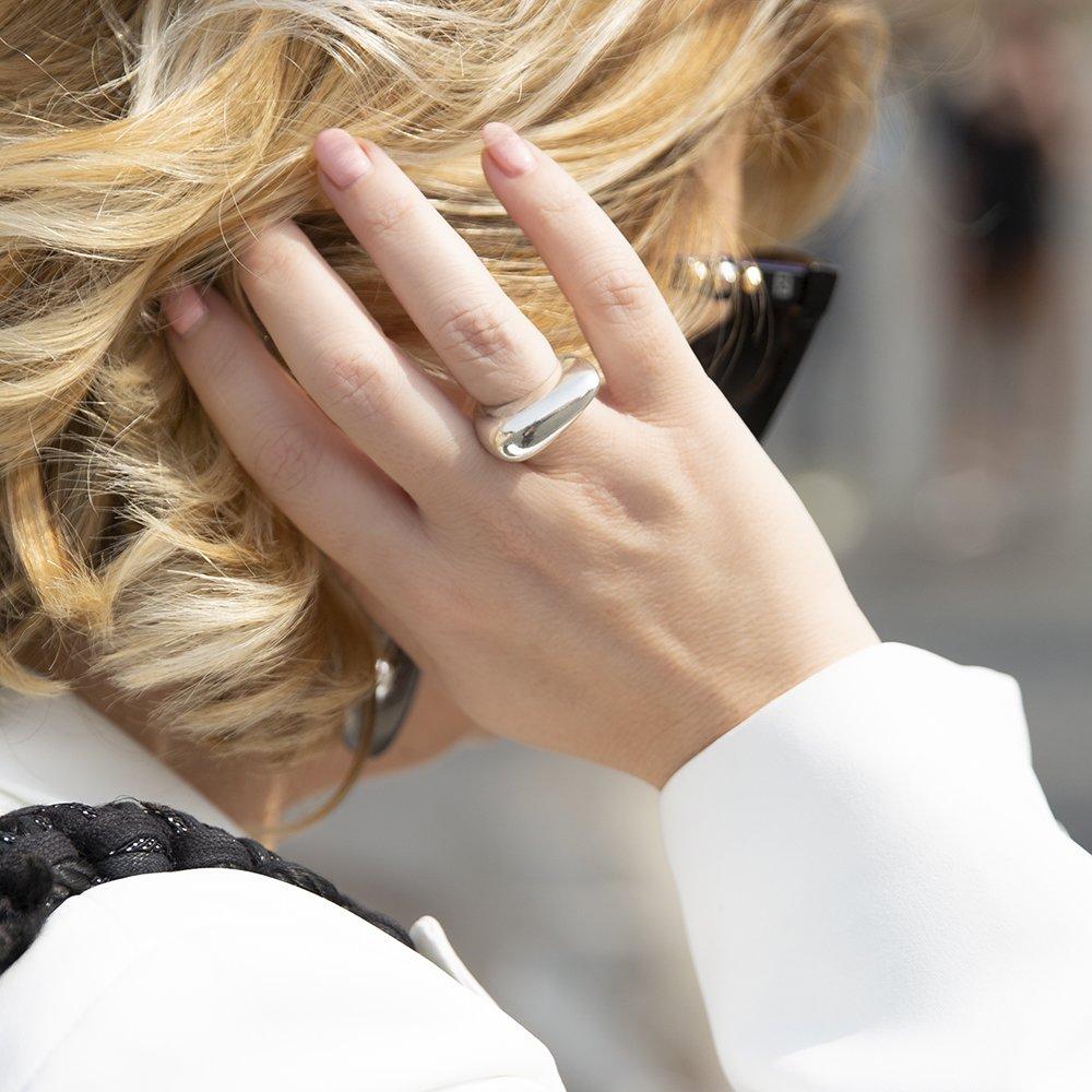 Foto di anello in argento