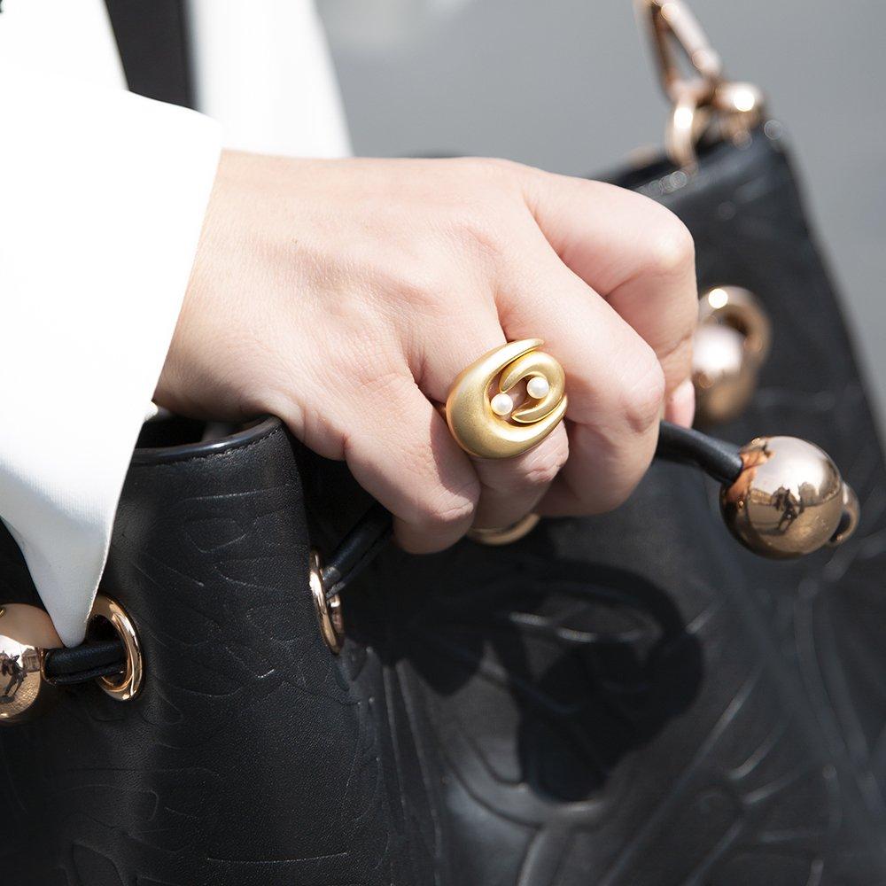 Foto di anello doppio