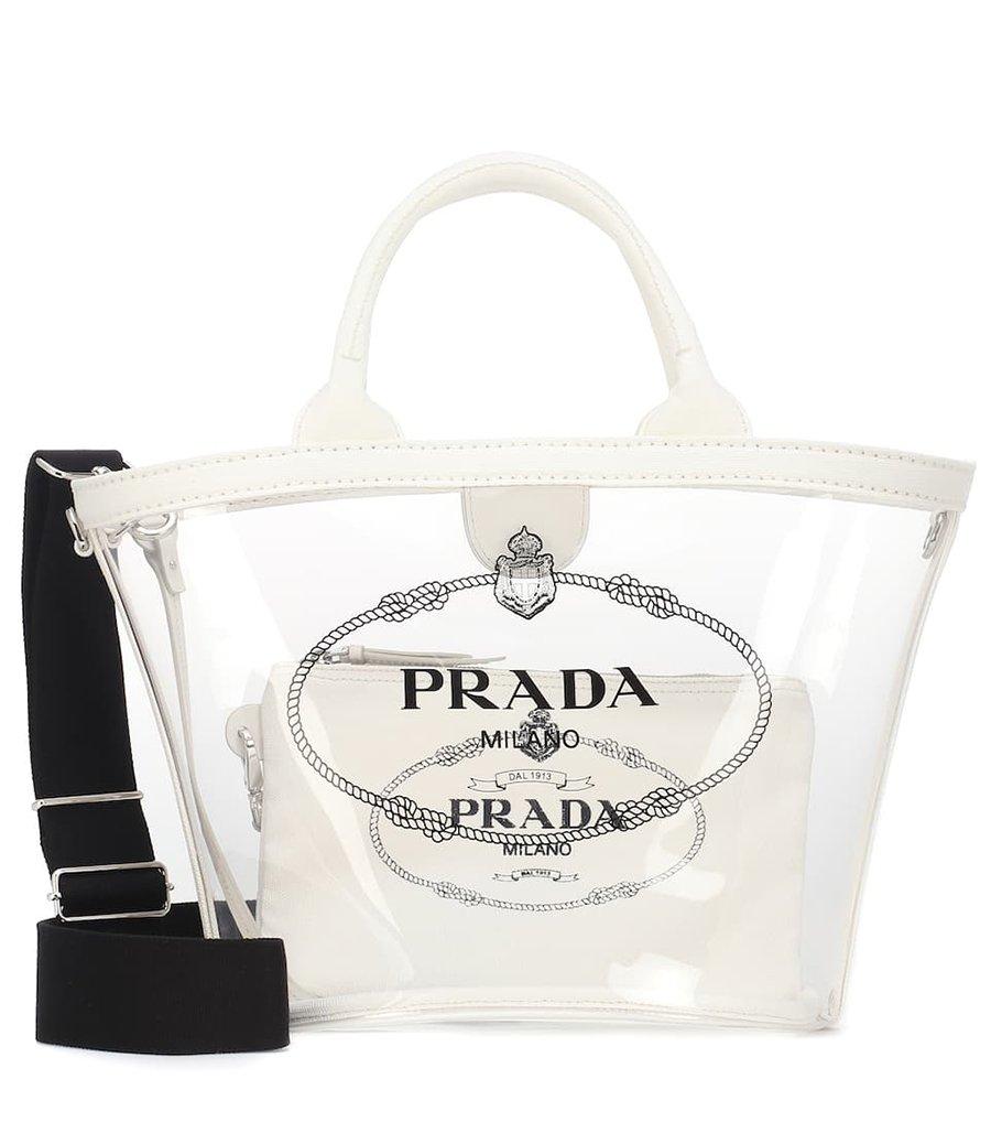 foto di shopping bag Prada