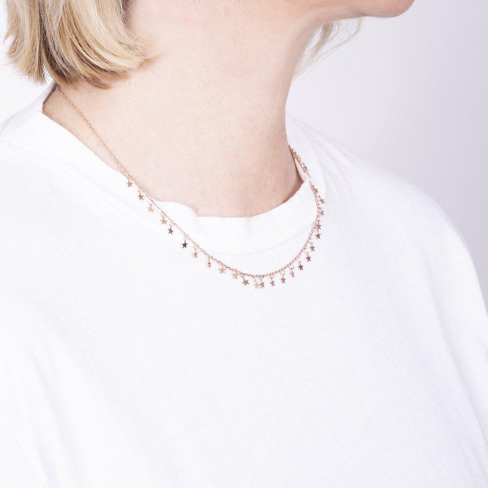 Collana con stelline per i gioielli e bijoux 2019