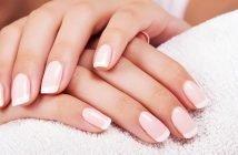Foto della french manicure