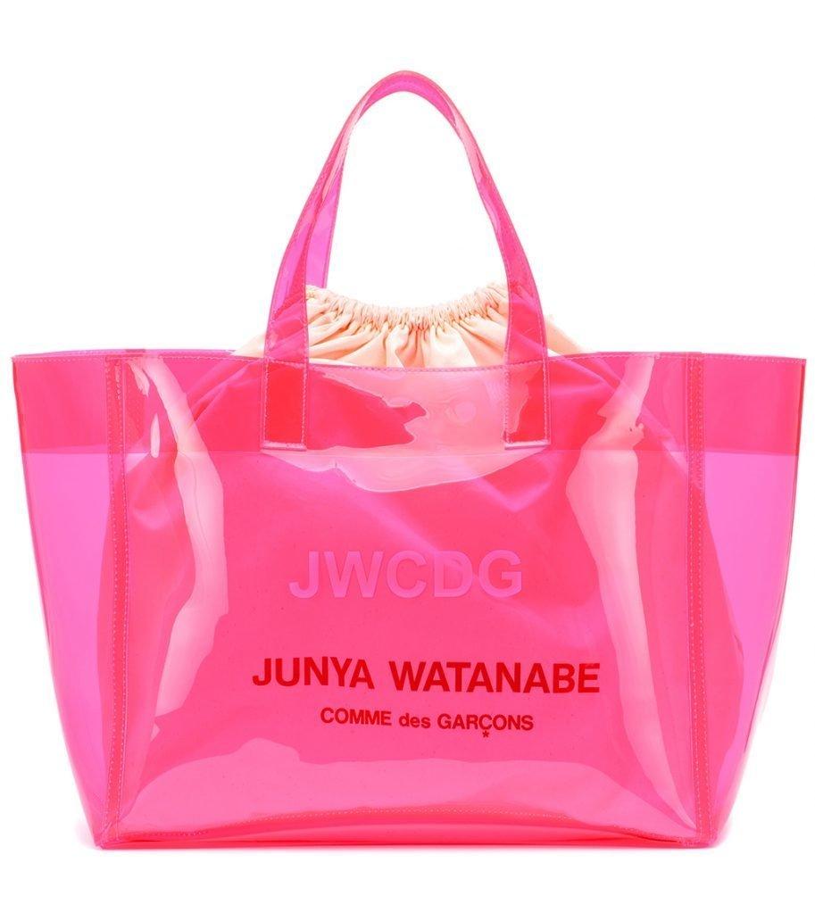 foto di borsa in pvc rosa