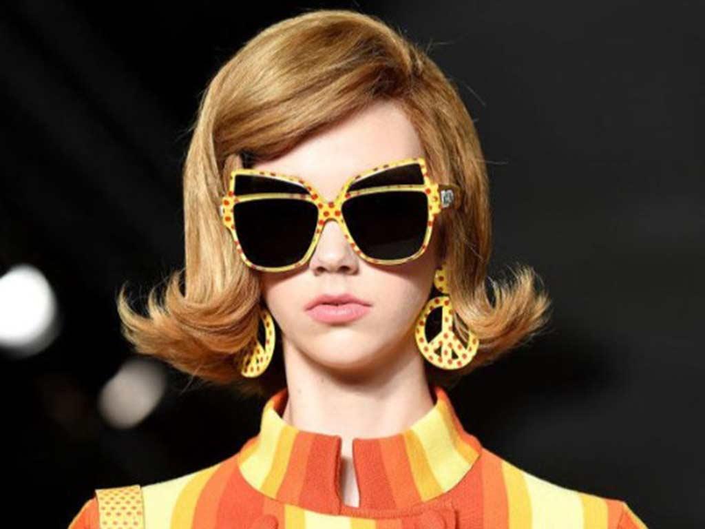 foto occhiali da sole con fantasia
