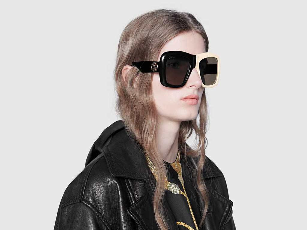 foto occhiali da sole oversize