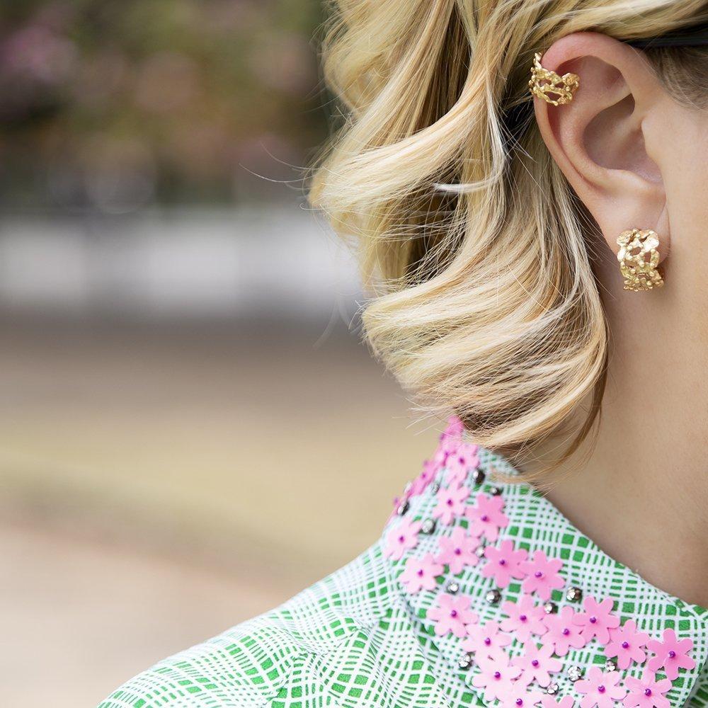 Foto di orecchini piccoli per i gioielli e bijoux 2019