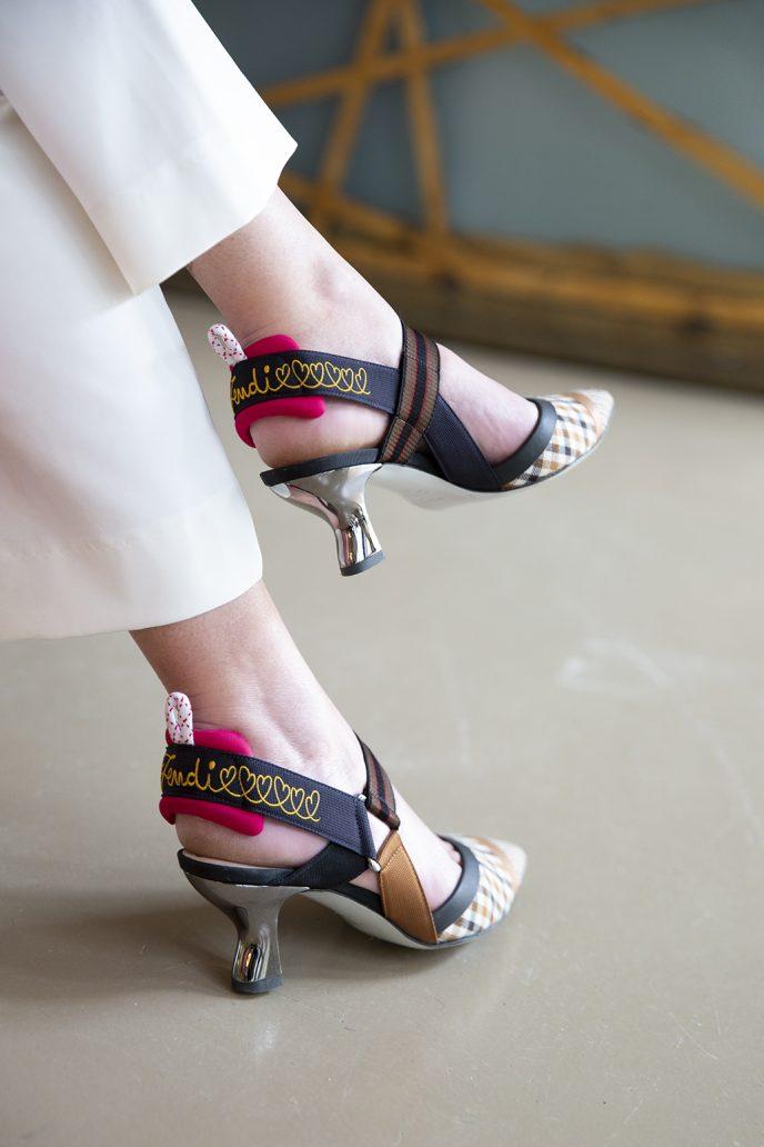 foto di scarpe primavera estate 2019: le slingback