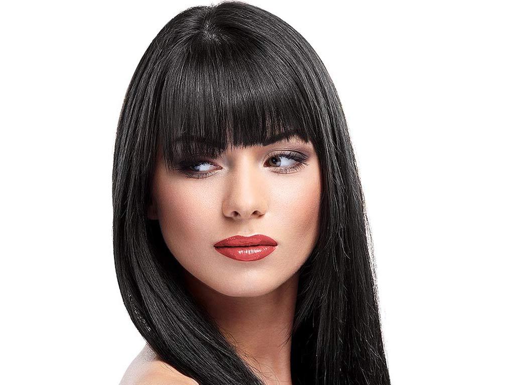 foto colore capelli neri