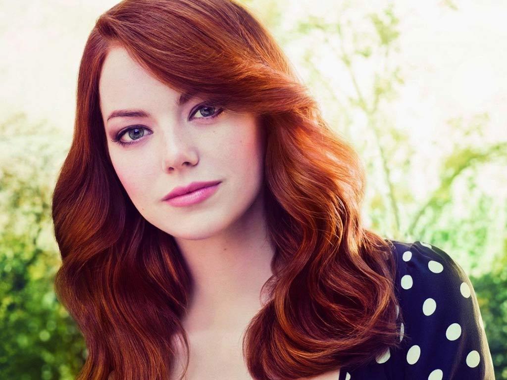foto colore capelli rossi emma stone