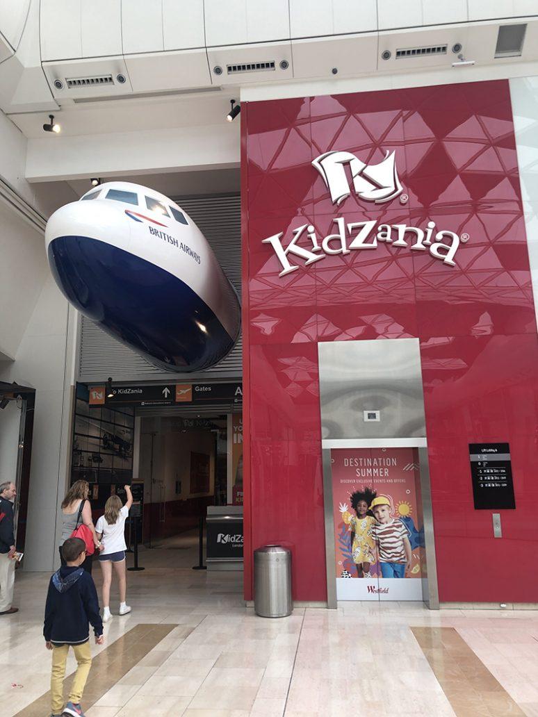 L'ingresso di Kidzania