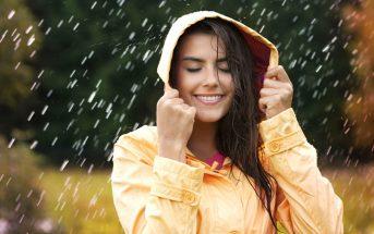 foto abbigliamento da pioggia