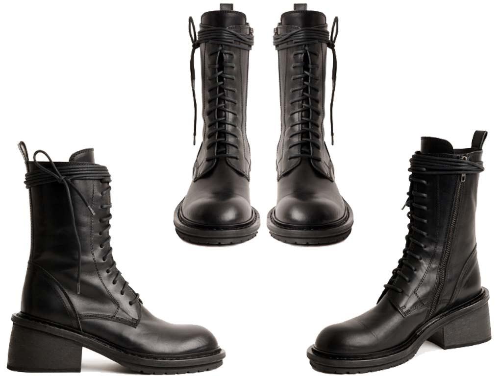 foto Combat Boots Tucson di Ann Demeulemeester