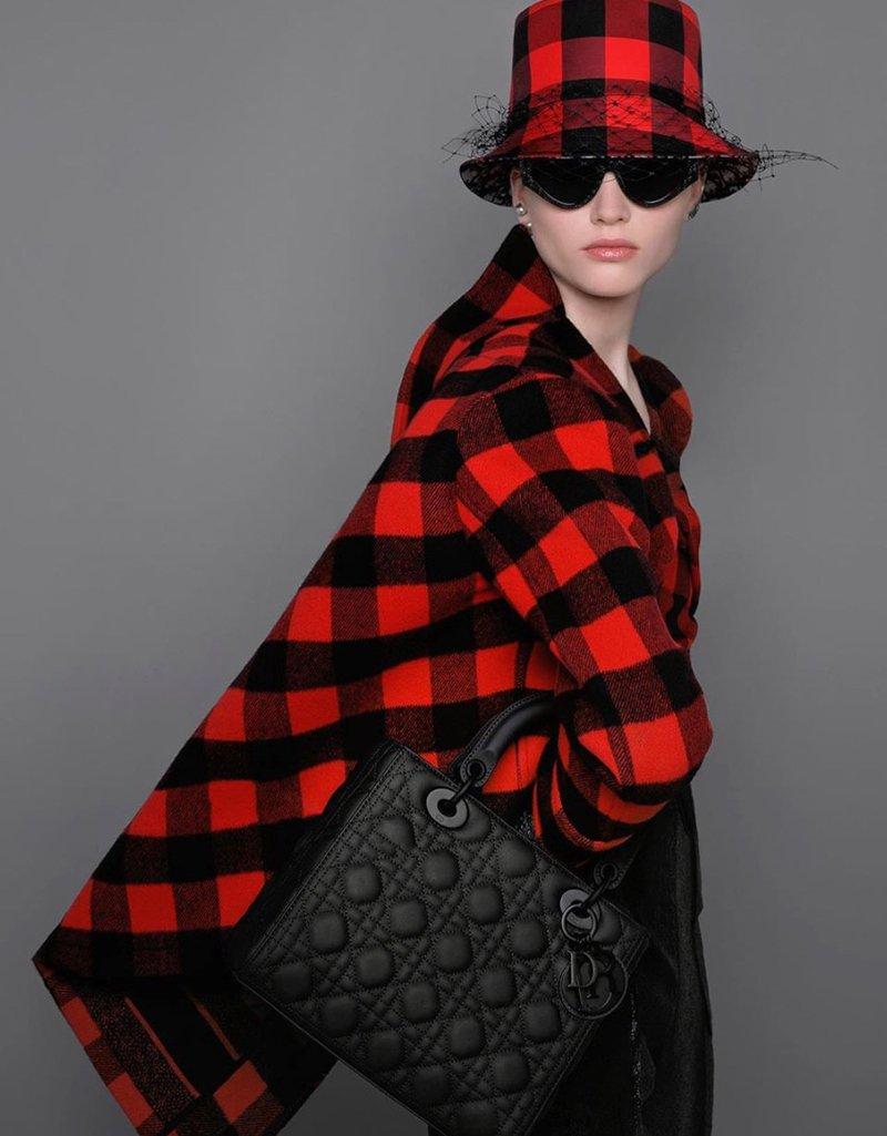 Look Dior Fantasia a scacchi