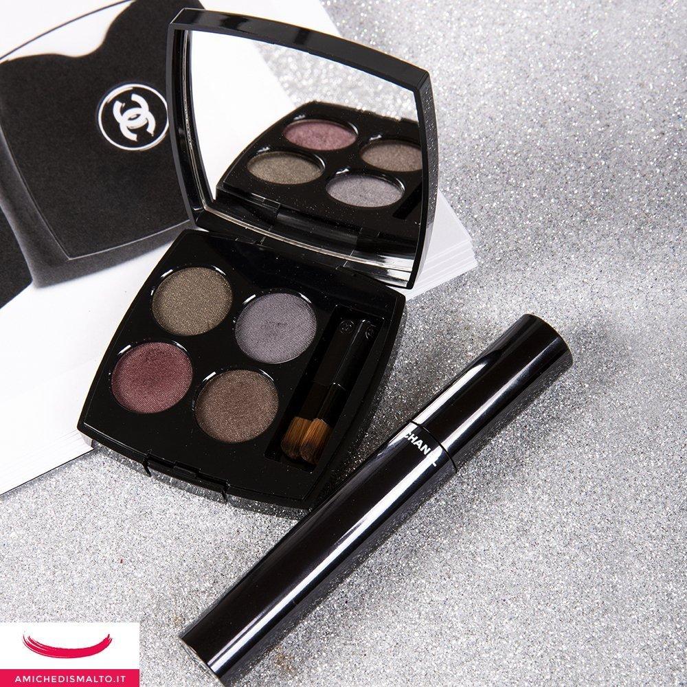 Foto del make up per gli occhi Chanel autunno 2019