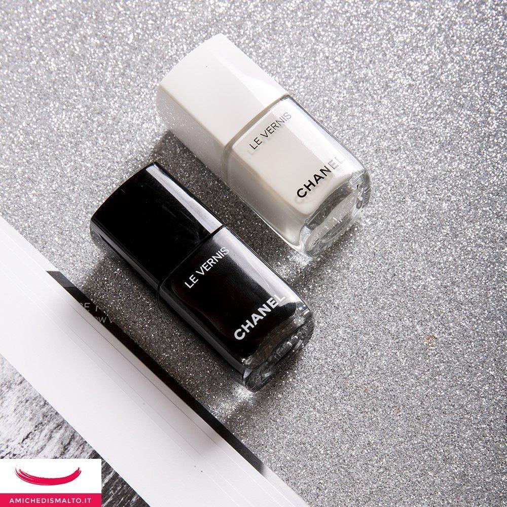 Smalti Chanel Noir et blanc