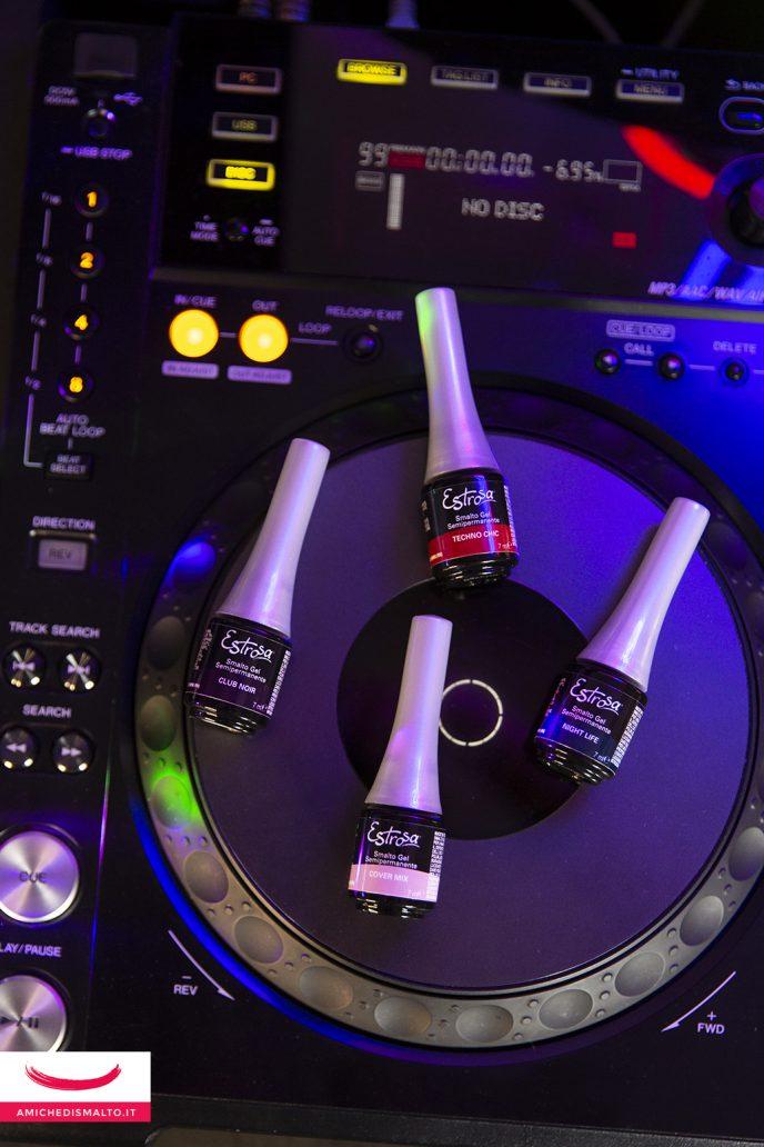 Gli smalti della collezione Estrosa DJ Collection