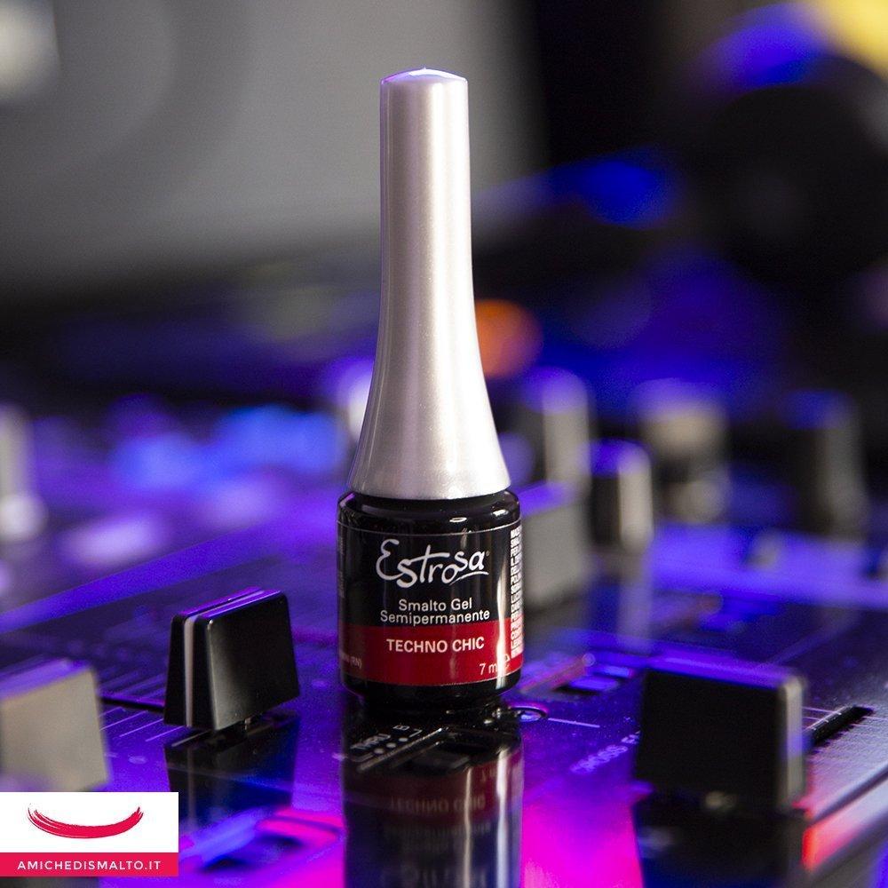 Smalto rosso Techno chic della DJ Colletion di Estrosa