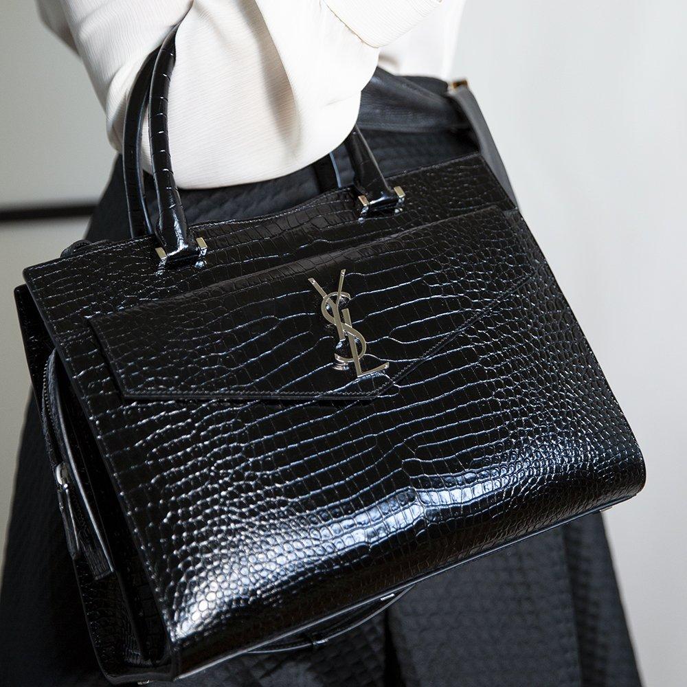 It Bag 2021: borsa in stampa cocco Saint Laurent