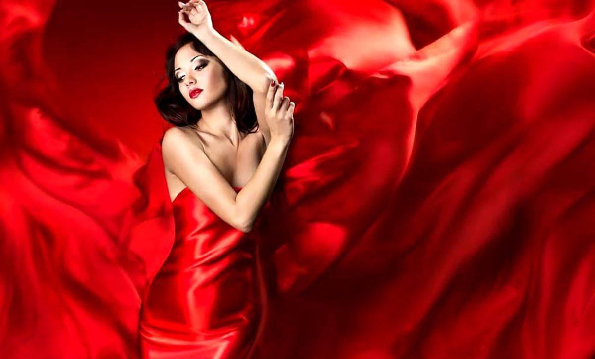 Abito Red passion, colore rosso