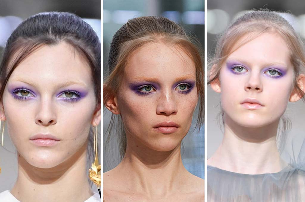foto tendenze make up autunno inverno 2019-2020 color lavanda
