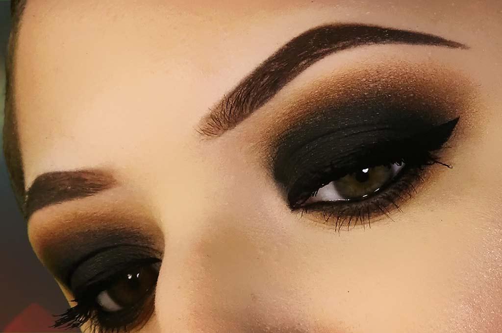 foto smokey eyes