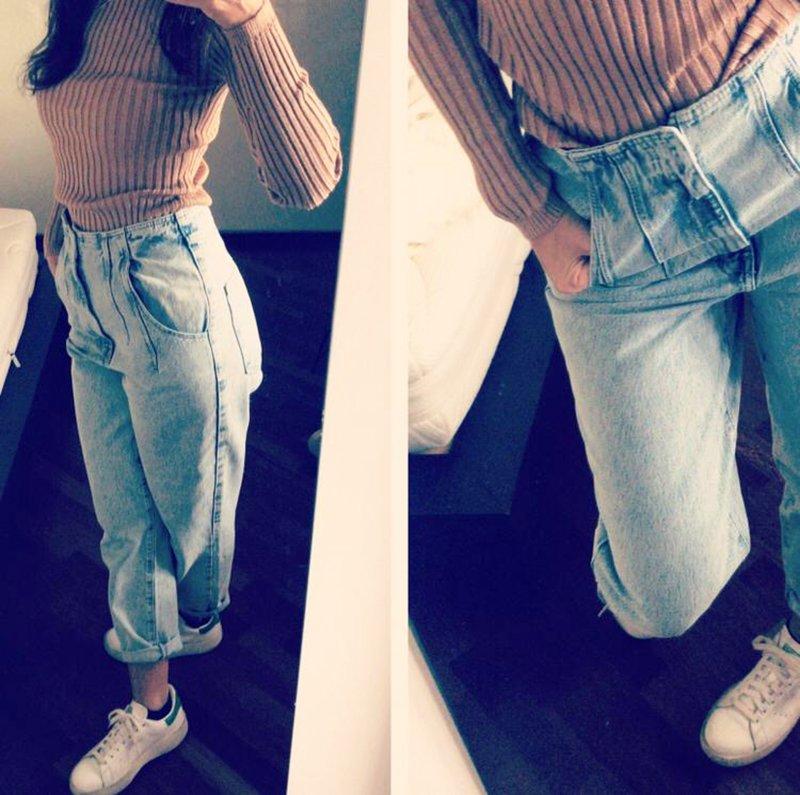 Foto di jeans zara super High Waist