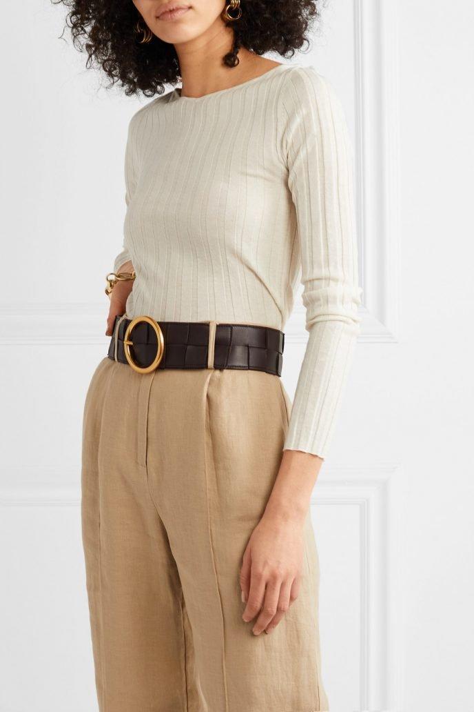 Cinture di moda 2020: bottega Veneta